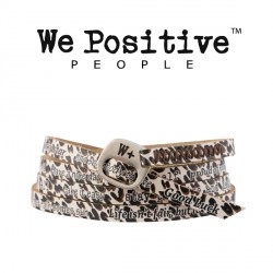 Bracciale Leopardato 201 WE POSITIVE