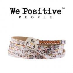 Bracciale Graffiti 206  WE POSITIVE