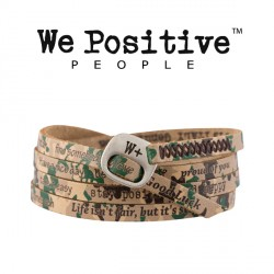Bracciale Camouflage Verde 210 WE POSITIVE