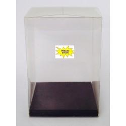 Conf. 10 Pz scatola Acetato trasparente con base blu