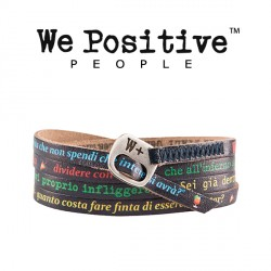 BRACCIALE WE POSITIVE LIGABUE HAPPY HOUR COL MULTI