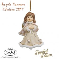 Goebel Angelo  a Campana in porcellana Ed. Natale 2015