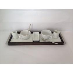 Serv, caffè 10 Pz Pordamsa porcellana