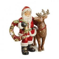 Babbo Natale con ghirlanda ed.limitata