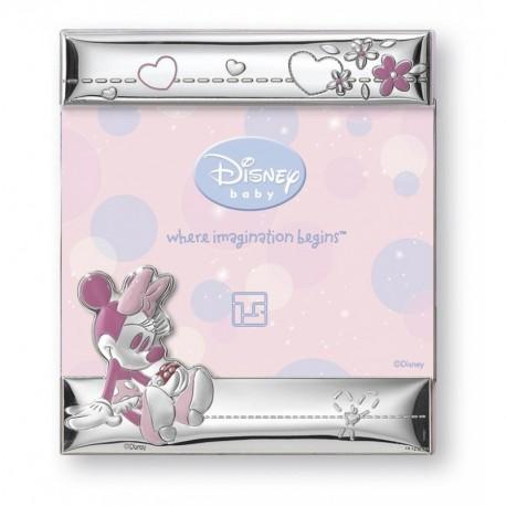 Portafoto Cornice a giorno argento bilaminato Minnie Disney Italsilver