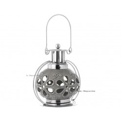 Lanterna Tealight Bagutta ceramica metallo