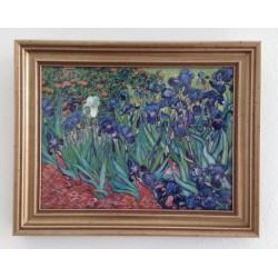 "Quadro Porcellana ""Iris"" Van Gogh"