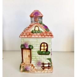 Scatola Linea English Cottage in cermica