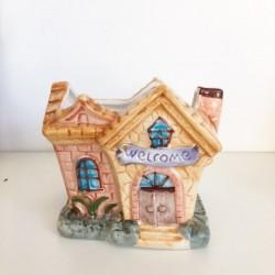 Vasetto casetta Porta piante Linea English Cottage