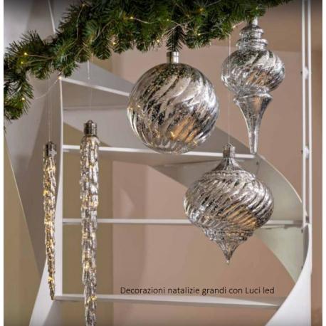 Decorazioni Natalizie A Led.Decorazioni Natalizie Da Appendere Maxi Con Luci Led Brandani Natale