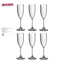 Calice Flutes Guzzini Outlet Trasparente