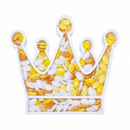 Contenitore Confetti Corona della Regina in Polistirolo