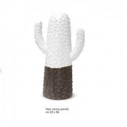 Vasi Linea Cactus in porcellana Bianca e Tortora