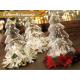 Albero di Natale e presepe in Vetro soffiato decorazioni e Luci Led