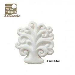 Gesso bianco a forma di Albero della Vita Bomboniere