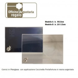 Cornici Portafoto in Plexiglass con coccinella portafortuna