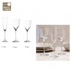 Servizio di Bicchieri 36 pezzi in Crystal Glass BRANDANI