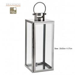 Lanterna grande in inox e vetro temperato BRANDANI