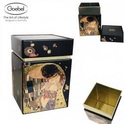 Scatola in metallo Decoro Il Bacio di Klimt Goebel