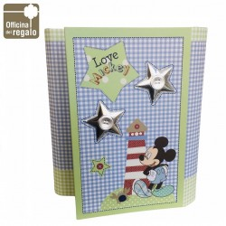 Album portafoto Topolino Mickey Mouse Disney Nascita Battesimo