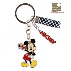 Portachiavi in metallo smaltato Mickey Mouse Topolino